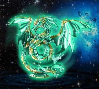 Обои на телефон dragon, seiya, sekishiki, zodiaco, аниме, дракон, зодиак, святой