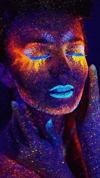Обои на телефон человек, релакс, цветные, сон, реал, лицо, женщина, charm