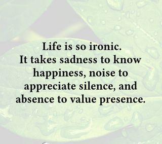 Обои на телефон тишина, счастье, жизнь, грустные, presence, noise, ironic, absence