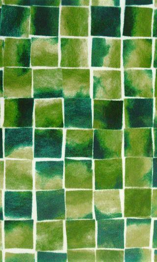 Обои на телефон квадраты, зеленые, блоки, абстрактные