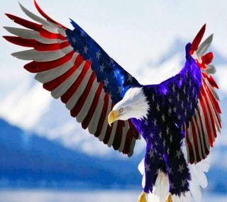 Обои на телефон орел, американские