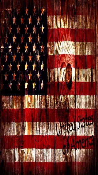 Обои на телефон американские, флаг