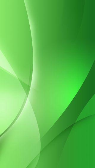 Обои на телефон волна, зеленые, абстрактные, 1080p