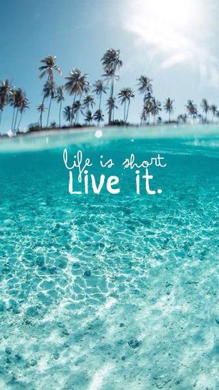 Обои на телефон love, ree, live your life, любовь, природа, синие, приятные, небо, жизнь, пляж, солнце, лето, твой