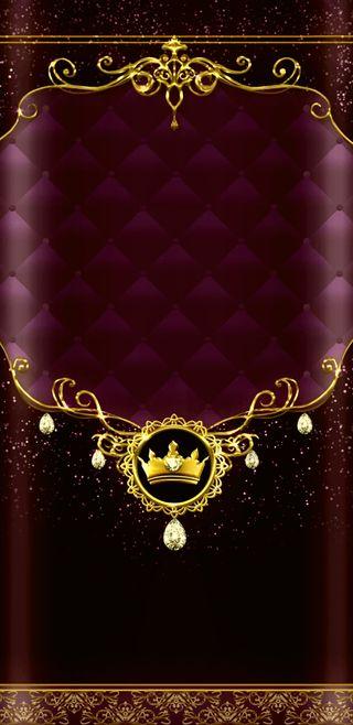 Обои на телефон корона, симпатичные, роскошные, прекрасные, золотые, девчачие, бордовые, luxury, luxmarooncrown