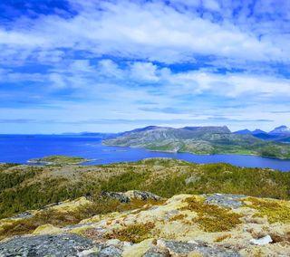 Обои на телефон природа, океан, норвегия, море, sea and land