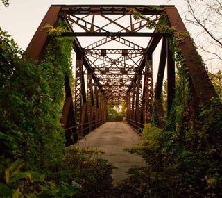 Обои на телефон страна, старые, мост, old bridge, abandoned
