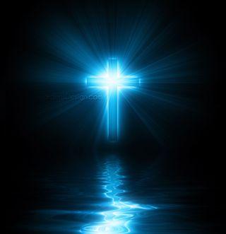 Обои на телефон религиозные, крест, illuminating cross