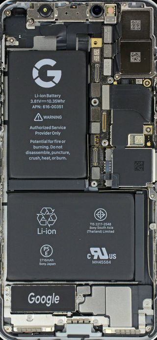 Обои на телефон технология, схемы, гугл, внутри, xl, pixel 2, pixel, internal, google pixel 2, google, 929