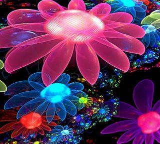 Обои на телефон фотографии, цветы, цветные, фрактал, самсунг, последние, галактика, абстрактные, samsung galaxy, fractal flowers