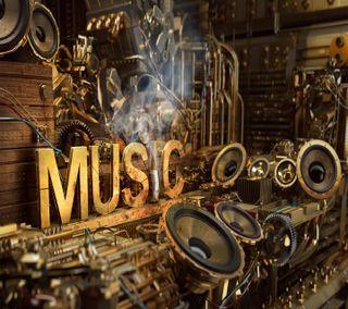 Обои на телефон m u s i c, music in my soul, музыка, мой, душа