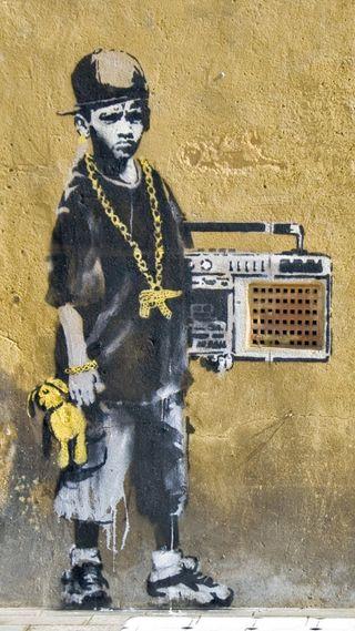 Обои на телефон хоп, хип, ребенок, искусство, городские, urbano, radio, infancia, hip-hop child, grafite, crianca, childhood, boombox