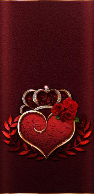 Обои на телефон корона, симпатичные, сердце, розы, прекрасные, красые, золотые, девчачие, aqueensheart