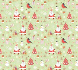 Обои на телефон шаблон, санта, рождество, дерево, christmas pattern