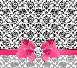 Обои на телефон лук, бриллиант, шаблон, розовые, victorian, damask, baroque