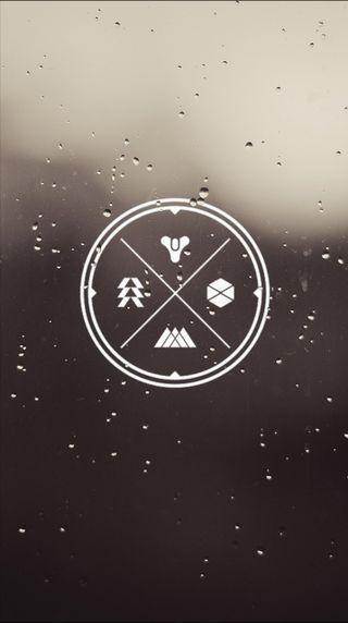 Обои на телефон судьба, символы, логотипы, destiny symbols, classes