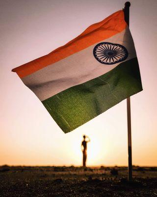 Обои на телефон индия, флаг, луна, индийские, жизнь, salute, myindia, indianflag, hd