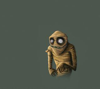 Обои на телефон страшные, мультфильмы, глаза, аниме, zegehalloween, mummy monster 2, mummy