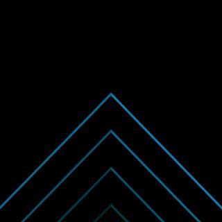 Обои на телефон чистые, компьютер, черные, свет, логотипы, зодиак, знаки, грани