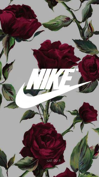 Обои на телефон розы, найк, nike