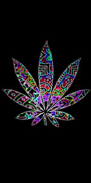 Обои на телефон дым, черные, листья, красочные