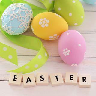 Обои на телефон яйца, украшение, пасхальные, текст, праздник, весна