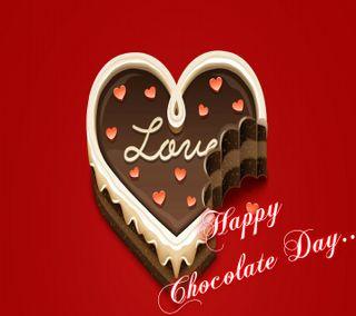 Обои на телефон happy chocolate day, love, любовь, сердце, счастливые, день, день рождения, торт, шоколад