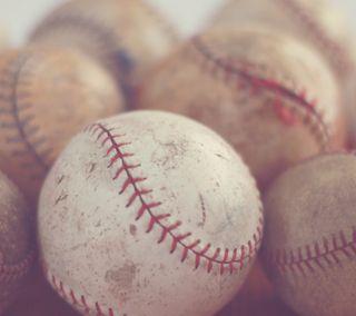 Обои на телефон парень, старые, спорт, мяч, люди, команда, игра, бейсбол, old worn baseballs, man