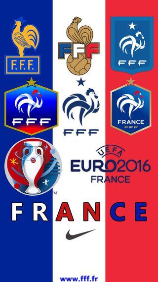 Обои на телефон франция, евро, uefa, euro 2016