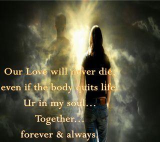 Обои на телефон любовники, чувства, слова, пара, никогда, навсегда, любовь, жизнь, высказывания, quit, love never dies, love