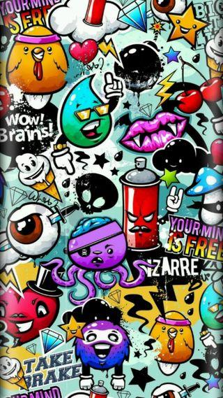 Обои на телефон рэпер, музыка, дым, граффити, бутон, бренды, артист, арт, supreme, art