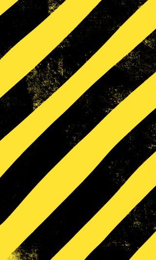 Обои на телефон полосы, черные, предупреждение, крест, желтые, do not cross