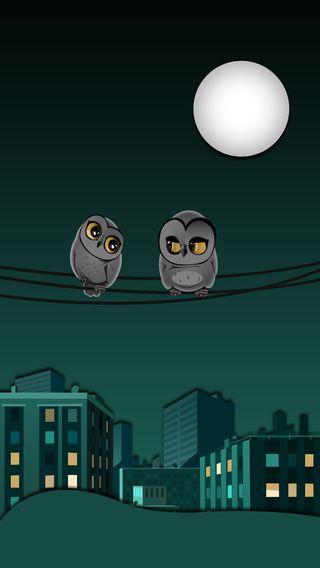 Обои на телефон сова, материал, дизайн, excitement owls