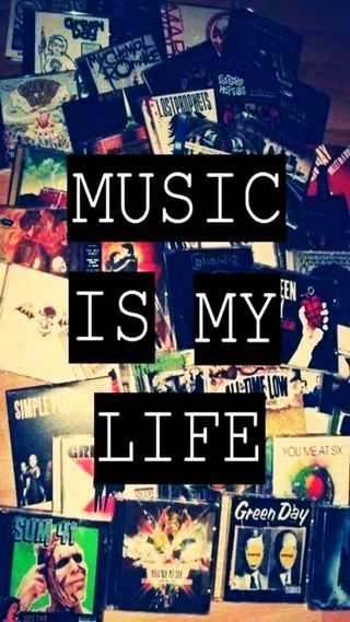 Обои на телефон музыка, жизнь