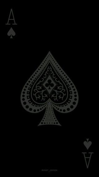 Обои на телефон туз, покер, spades, ace of spades