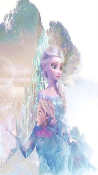 Обои на телефон эльза, принцесса, холодное, снег, милые, королева, snow queen, elsa queen