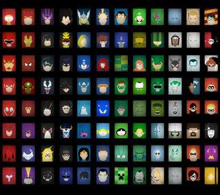 Обои на телефон супергерои, рисунки, развлечения, мультфильмы, марвел, комиксы, абстрактные, dc