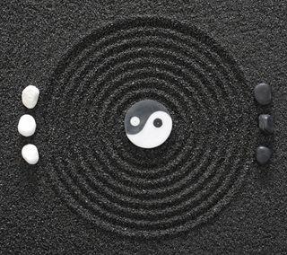 Обои на телефон stones black white, zen concept, черные, белые, фон, камни, дзен, конепт