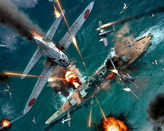 Обои на телефон военно морские, японские, стрельба, самолет, полет, война, военные, wwii, kamikaze pilot, kamikaze