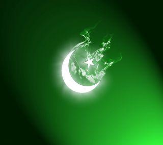 Обои на телефон пакистан, флаг, приятные, луна, зеленые, звезда, белые, indepence