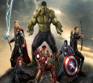Обои на телефон герои, мстители, марвел, marvel, avengers assemble