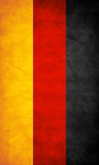 Обои на телефон германия, флаг