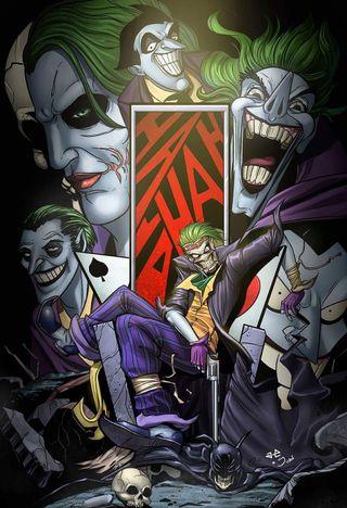 Обои на телефон смех, супер, комиксы, джокер, бэтмен, арт, the batman, dc, art