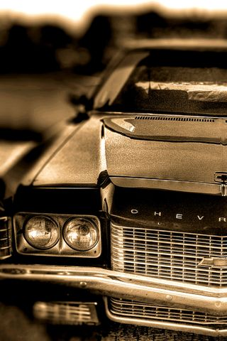 Обои на телефон шевроле, седан, мускул, машины, блок, v8, impala, chevrolet impala 72, big block, 1962