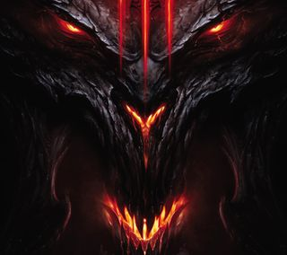 Обои на телефон diablo 3, diablo iii, diablo 3 demon, дьявол, демон, диабло