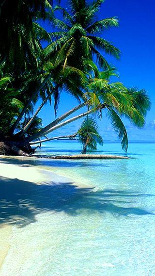Обои на телефон рай, тропические, пляж, остров, море