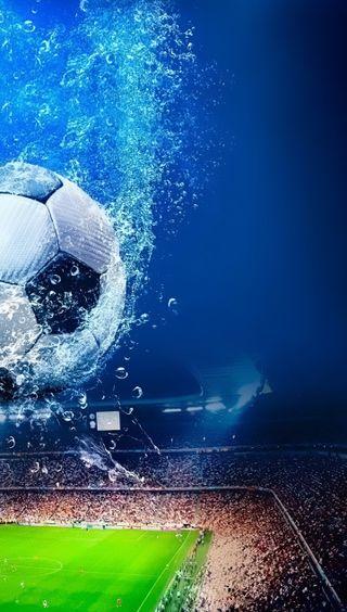 Обои на телефон подводные, футбольные, футбол, спорт, вода, crowd, arena
