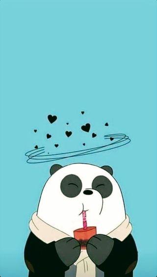 Обои на телефон панда, мультфильмы