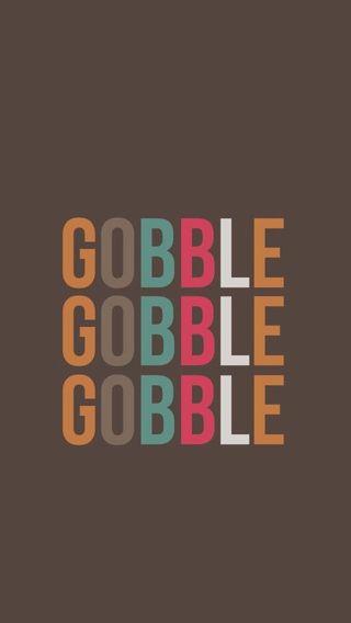 Обои на телефон благодарение, gobble gobble