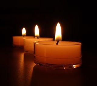Обои на телефон уик, свечи, темные, символ, свет, пламя, огонь, любовь, wax, love